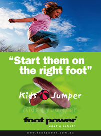Foot Power Kids Jumper